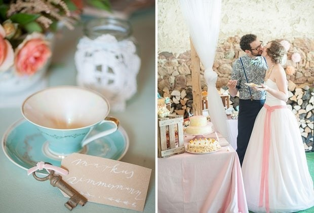 Marta and Daniel – a breathtaking do-it-yourself vintage-dream