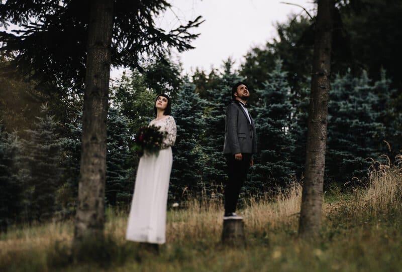 Sinja and Hans – Moody After Wedding Shoot by Rebecca Konrad Fotografie