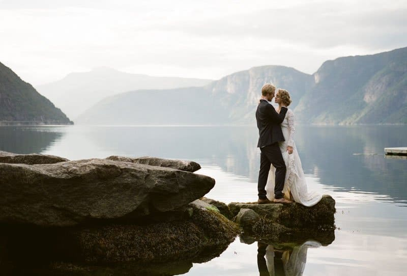 After Wedding Shoot at Eidfjord in Norway by Koby Brown Photography