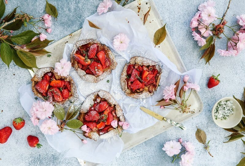 Spring-Galettes – Fashion meets Food of Charlotte Antonia and Comme Soie