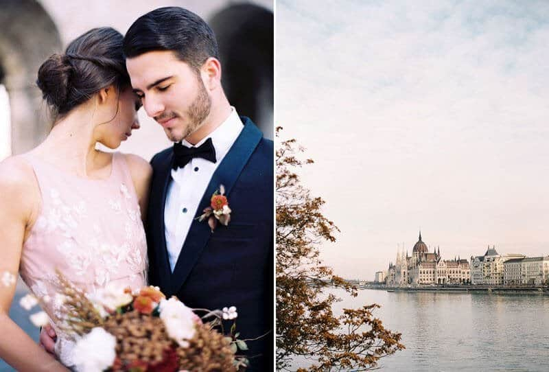 Romantic Budapest Elopement by Katie Grant Photography