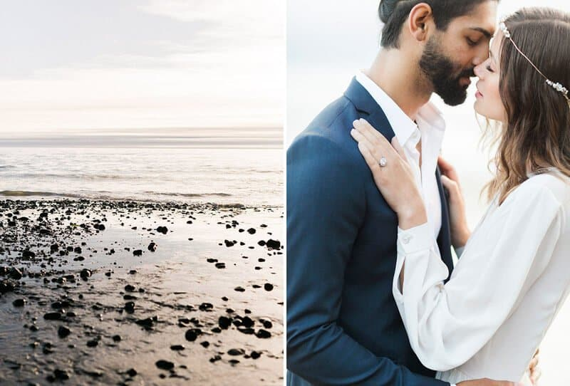 Intimate Coastal Elopement by Niki Rhodes Photography