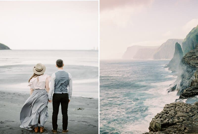 Elopement on the Faroe Islands by Mikhail Balygin