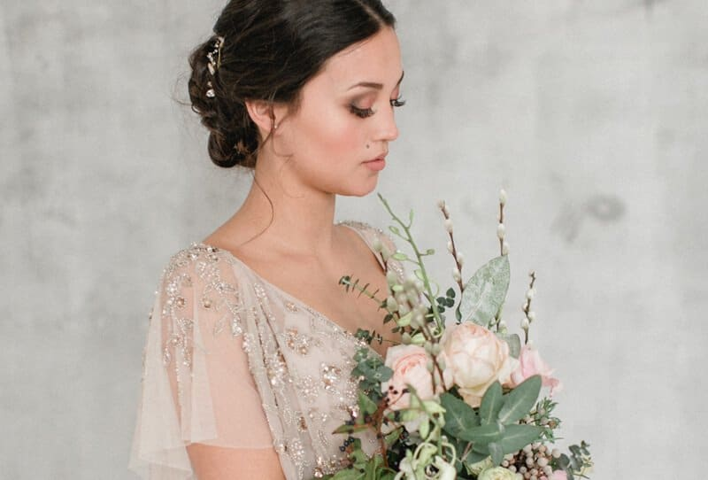 The Minimalist Bride by Diana Frohmüller Photography