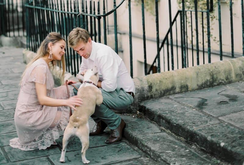 Romantic Engagement Shoot in Bath by Lily & Sage and Katie Julia