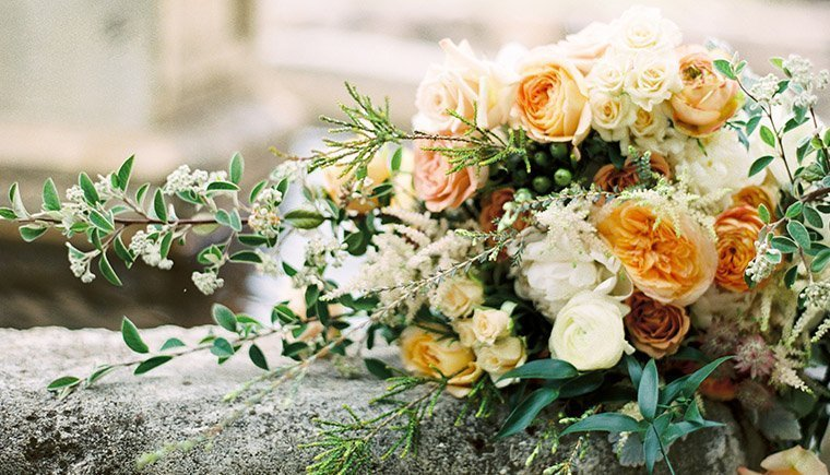 Elegant and Glamorous Garden Wedding by Donny Zavala Photography