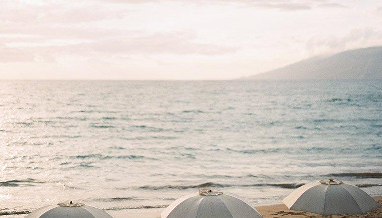 Paradisiacal Maui Beach Wedding by Erich McVey Photography