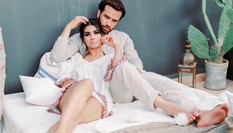 Oriental Couple Shoot by Karina Papadopoulos