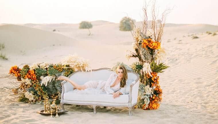 Sensual Desert Boudoir by Lizelle Goussard