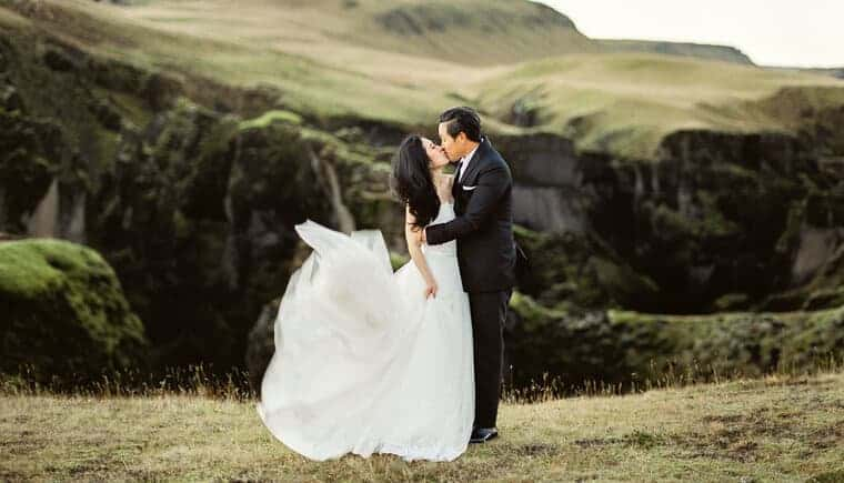 Breathtaking Iceland Elopement by Lara Lam