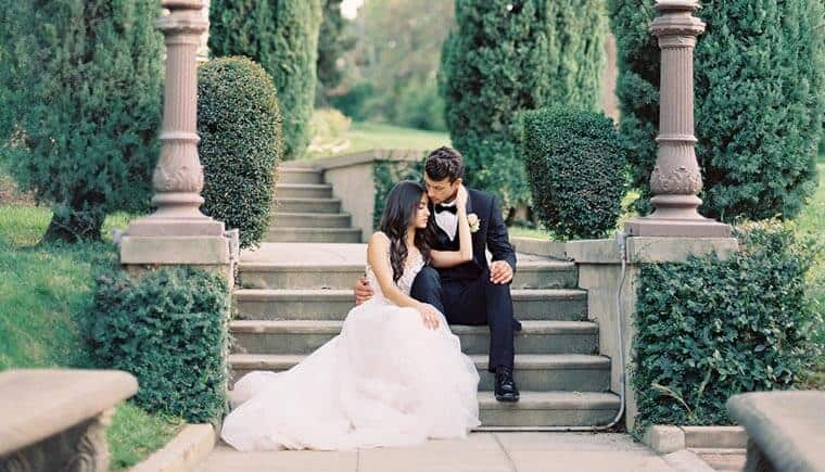 Graceful Fine Art Wedding Inspirations by Besame Floral Events and Carrie King