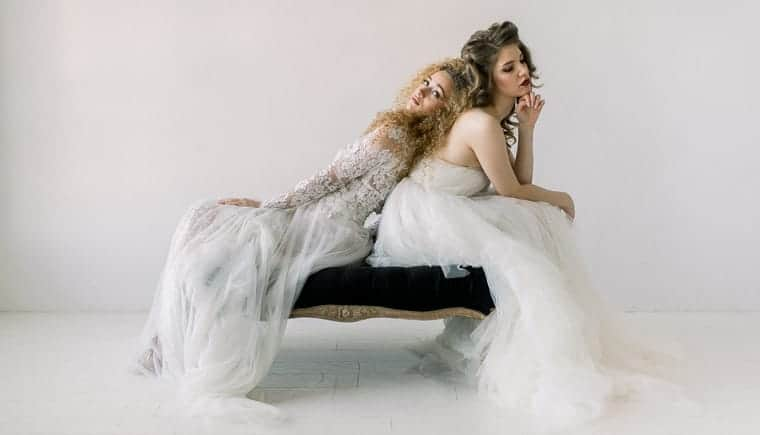 Bridal Fashion of Extravagance by Diana Frohmüller Photography