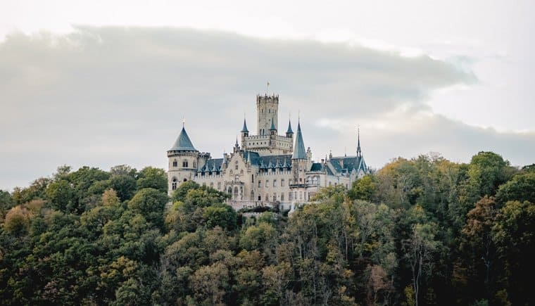 The Love Story of Marienburg Castle by Diana Frohmüller