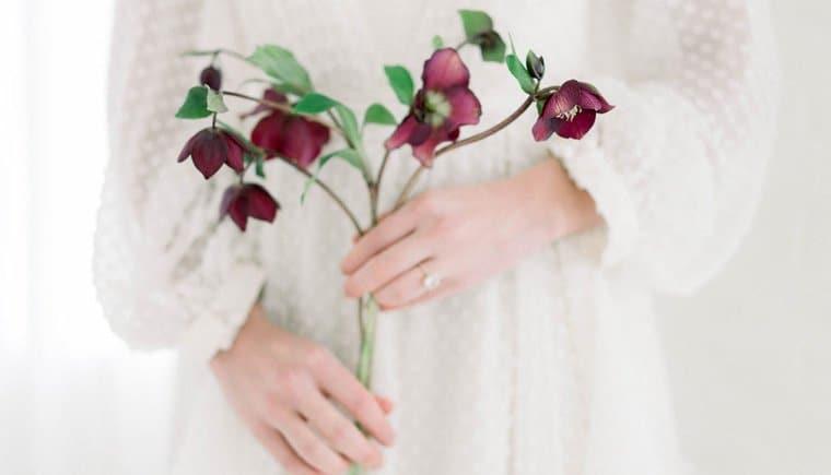 A Ballerina's Floral Wedding Dream