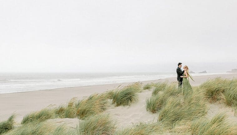 After Wedding Session on the Beach of San Francisco
