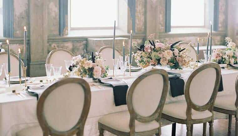 Perfect Elegance in the George Ballroom