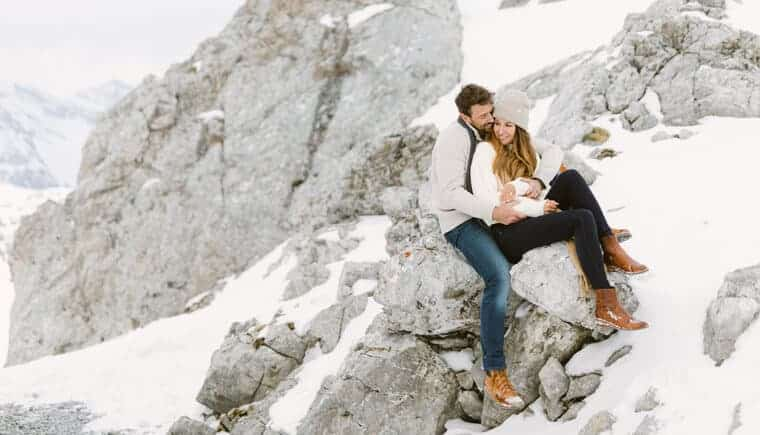 Romantic Anniversary in the Mountains