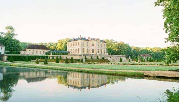 Dreamlike wedding visions at Chateau de Villette