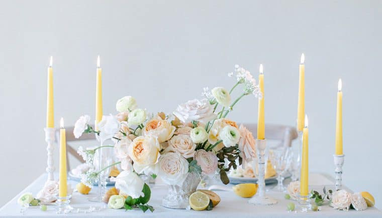 Intimate Wedding Atmosphere at Château de Pierreclos