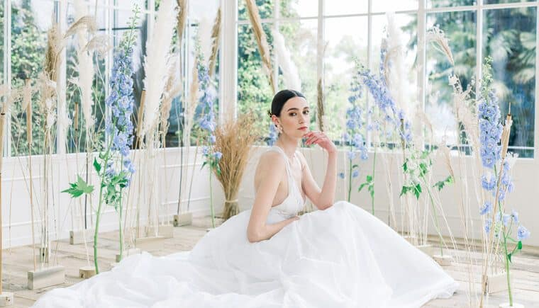 Wedding Visions inspired by Monet's Water Lilies