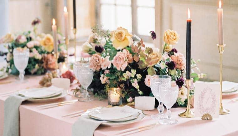 """""""Rose de thé"""" – Inspirations at Chateau de Montgobert"""